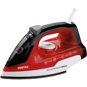 Утюг Centek CT-2347 RED centek ct 2378 red gold