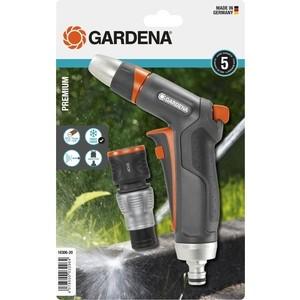 Пистолет-наконечник для полива Gardena Premium, коннектор с автостопом (18306-20.000.00)