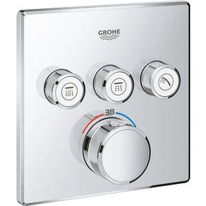 Термостат для ванны Grohe Grohtherm SmartControl с механизмом (29126000, 35600000)