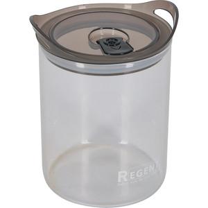 Банка для сыпучих продуктов 1.2 л Regent Desco (93-DE-CA-01-1200) цены