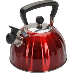 Чайник 2.5 л со свистком Regent Promo (94-1506) кастрюля 6 0 л regent promo 94 1006