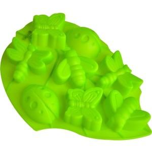 Форма для выпечки 8 ячеек 28х22х3 см Regent Silicone Лист (93-SI-FO-105)