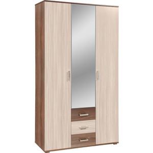Шкаф комбинированный Олимп 06.294 болеро ясень темный/светлый