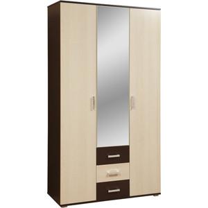 Шкаф комбинированный Олимп 06.294 болеро венге/дуб линдберг