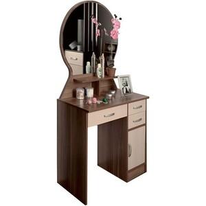 Стол туалетный Олимп Надежда - М04 венге/клен азия