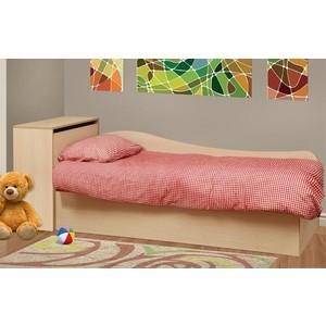Кровать одинарная Олимп Тони-11 дуб линдберг