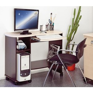 Стол компьютерный Олимп Костер - 3 венге /клен азия стол офисный дэфо easy prego d 267 016 mac клен белый