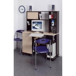 Стол компьютерный Олимп Костер - 6 венге/клен азия