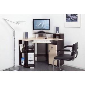 Стол компьютерный Олимп Coaster-7 венге/клен азия стол офисный дэфо easy prego d 267 016 mac клен белый