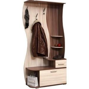 Шкаф комбинированный Олимп Визит - М10 ясень шимо