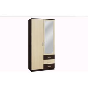 цена на Шкаф комбинированный Олимп 06.290 венге/дуб линдберг зеркало