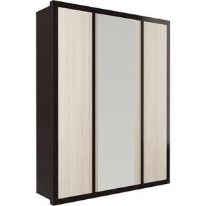цена на Шкаф комбинированный Олимп 06.243 венге/дуб линдберг зеркало