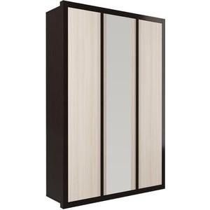 Шкаф комбинированный Олимп 06.244 венге/дуб линдберг