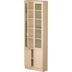 Шкаф комбинированный Олимп В-19 дуб линдберг