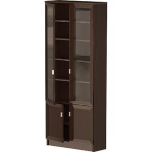 Шкаф комбинированный Олимп В-19 венге