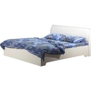 Кровать Олимп 06.298 Мона вудлайн кремовый/крок белый с откидным механизмом 200x140