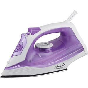 лучшая цена Утюг Atlanta ATH-5537 фиолетовый