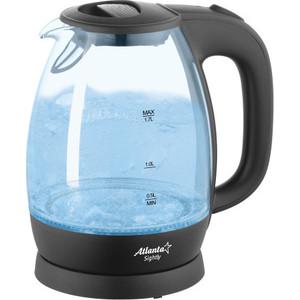 цена Чайник электрический Atlanta ATH-2465 черный в интернет-магазинах