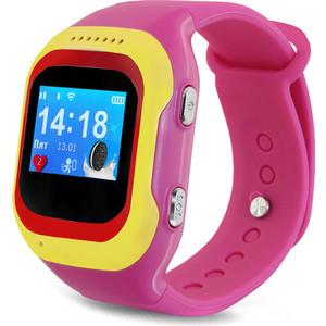 Детские умные часы Ginzzu GZ-501 pink детские умные часы ginzzu gz 521 brown