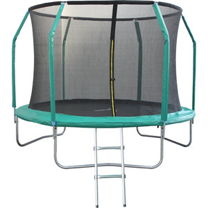 Батут Sport Elite 10FT 3,05м с защитной сеткой (внутрь) с лестницей GB10211-10FT/GB102011-10FT батут dfc trampoline kengoo 10ft tr e bas с защитной сеткой и лестницей