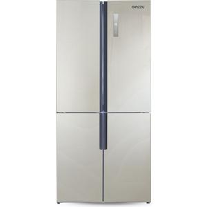 все цены на Холодильник Ginzzu NFK-510 Gold glass онлайн