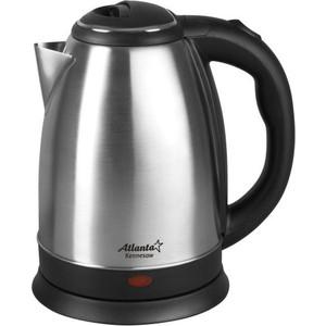 Чайник электрический Atlanta ATH-2431 черный цена и фото