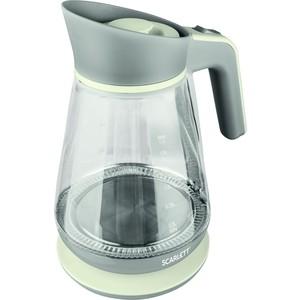 Чайник электрический Scarlett SC-EK27G38 чайник электрический scarlett sc ek18p53 1л 1600вт белый серый корпус пластик