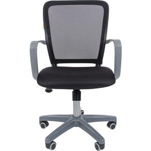 лучшая цена Офисноекресло Chairman 698 серый пластик TW черный