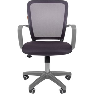 Офисноекресло Chairman 698 серый пластик TW серый офисное кресло chairman 610 черный серый