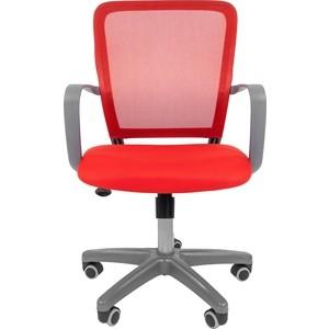 цена на Офисноекресло Chairman 698 серый пластик TW красный