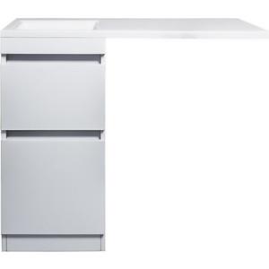 Тумба под раковину Style line Даллас Люкс 38 (100) белая, для стиральной машины (2000949102153)