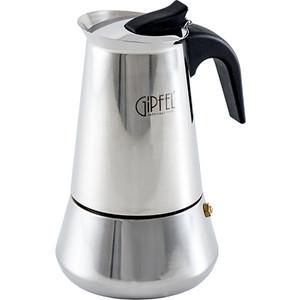 Гейзерная кофеварка 200мл на 4 чашки Gipfel Iris (5325)