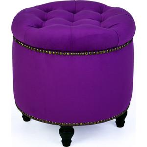 Пуф Studioakd Гроссето 27 фиолетовый цена и фото