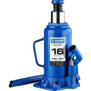 Домкрат гидравлический бутылочный Зубр 16т, T50 Профессионал (43060-16-z01)