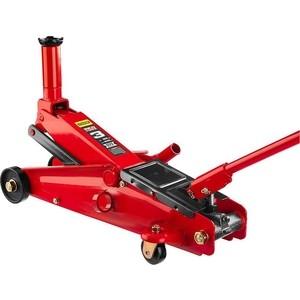 Домкрат подкатной гидравлический Stayer 3т, Red Force для внедорожников (43157-3) домкрат гидравлический подкатной big red t82000kit