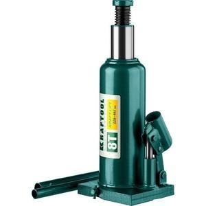 Домкрат гидравлический бутылочный Kraftool 8т, Kraft-Lift (43462-8-z01) цена
