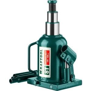 Домкрат гидравлический бутылочный Kraftool 8т, Double Ram (43463-8) цена