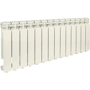 Радиатор отопления STOUT Bravo 350 14 секций алюминиевый боковое подключение