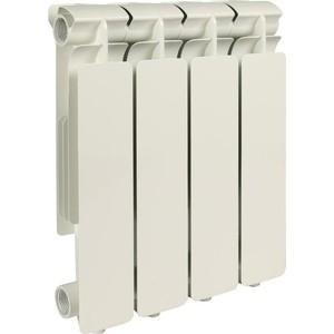 Радиатор отопления STOUT Bravo 350 4 секции алюминиевый боковое подключение радиатор отопления stout bravo 350 12 секций алюминиевый боковое подключение