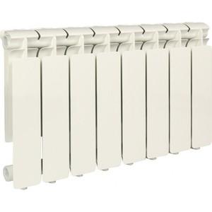 Радиатор отопления STOUT Bravo 350 8 секций алюминиевый боковое подключение