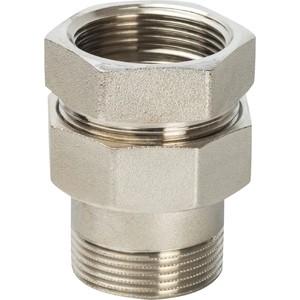 Разъемное соединение STOUT американка ВН никелированное уплотнение под гайкой o-ring кольцо 1 1/2 (SFT-0041-000112)