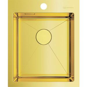 Кухонная мойка Omoikiri Akisame 41-LG светлое золото (4973080) мойка кухонная omoikiri akisame 41 lg 410 510 светлое золото 4973080