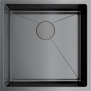 Кухонная мойка Omoikiri Taki 44-U/IF-GM вороненая сталь (4973521) кухонная мойка omoikiri taki 54 u if gm 540x440 вороненая сталь 4973107