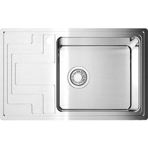 Кухонная мойка Omoikiri Mizu 78-R нержавеющая сталь (4973005) omoikiri mizu 71 1 l