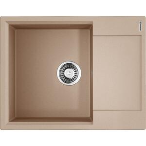 Кухонная мойка Omoikiri Daisen 65-SA бежевый (4993685) цена 2017