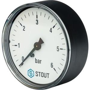 Манометр STOUT аксиальный Dn 63 мм 1/4 (SIM-0009-630608)