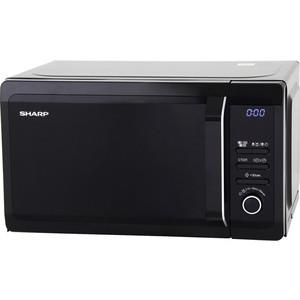 лучшая цена Микроволновая печь Sharp R-6852RK черный