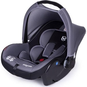 цены на Автокресло Baby Care Lora гр 0+, 0-13кг Серый/Черный  в интернет-магазинах