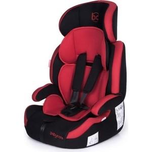 Автокресло Baby Care Legion гр I/II/III, 9-36кг Черный/Красный