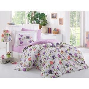 Комплект постельного белья Hobby home collection 1,5 сп, поплин, Candy лиловый (1501001317)